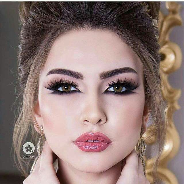 Arabic Style Eyes With Images Arabic Makeup Arabian Makeup