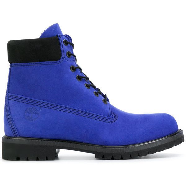 Timberland ankle length boots ($166) ❤ liked on Polyvore featuring men's fashion, men's shoes, men's boots, blue, mens leather shoes, timberland mens boots, mens leather boots, mens blue leather boots and timberland mens shoes