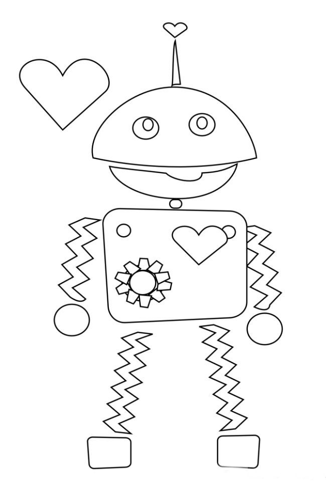 3 non mushy valentines day coloring pages - Colouring Activities For Toddlers