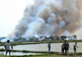 29-May-2013 8:31 - WEER GEWELD TEGEN MOSLIMS BIRMA. In een nieuwe uitbarsting van geweld tegen moslims zijn in noordoost-Birma een moskee en een weeshuis in vlammen opgegaan. Het is nog onduidelijk of daar slachtoffers bij zijn gevallen. De onlusten in Lashio, de hoofdstad van de Shan-staat, begonnen na geruchten dat een moslim een boeddhistische vrouw met benzine had overgoten en in brand had gezet. Boze boeddhisten eisten dat de politie de verdachte aan hen zou uitleveren. Toen dat niet...
