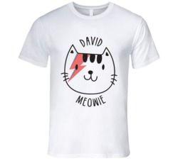 David Meowie Cat T Shirt