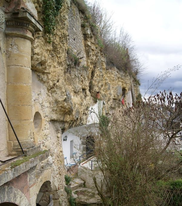 Studio troglo au pied du Château - Habitations troglodytes à louer à Amboise