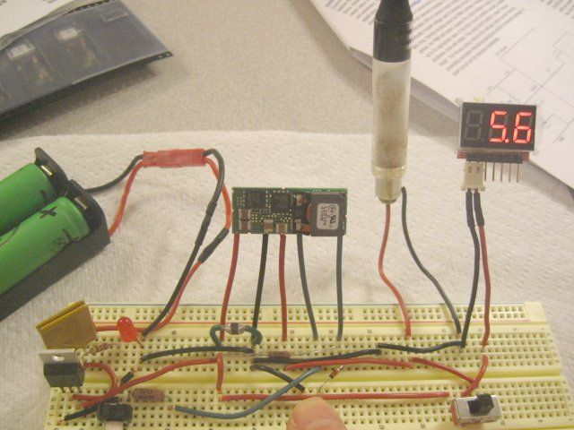 Tinkering With The Okl2 Dc Converter