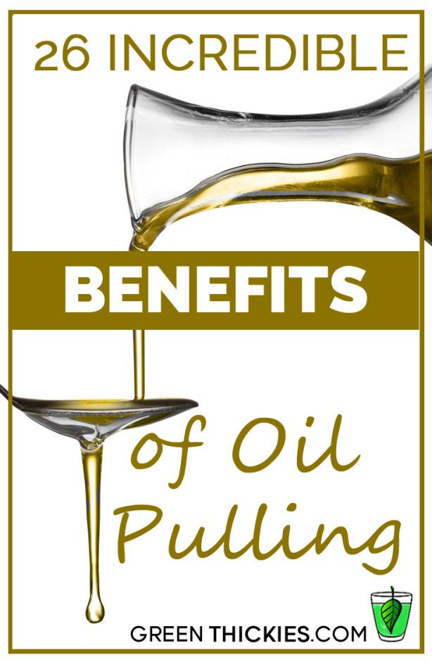 Oil pulling is basically swishing oils around your mouth like mouthwash. Would you believe there are actually 26 incredible benefits of oil pulling? Read on to find out why you need to add this to your morning routine!  #oilpulling #oilpullingbenefits #oilpullingwithcoconutoil #oilpull #oilpullingtherapy