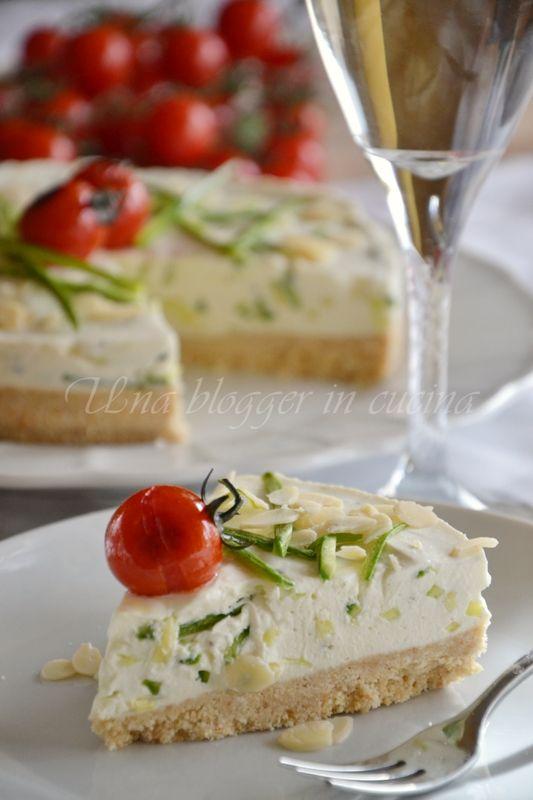 cheesecake alle zucchine