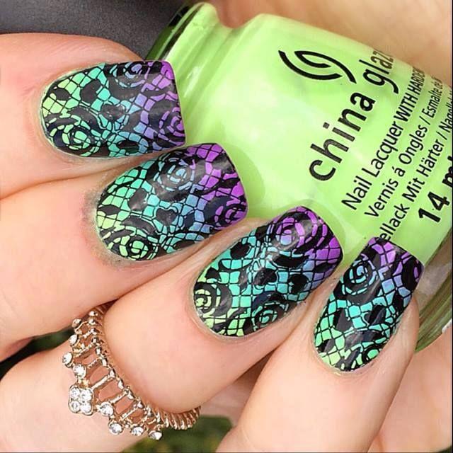 Mejores 36 imágenes de Nails en Pinterest | La uña, Uña decoradas y ...