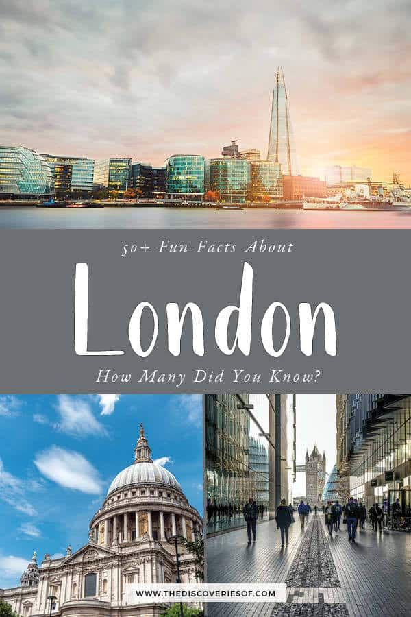 London Inspiration Cool Facts About London You Should Know Interesting Facts About London London London Travel