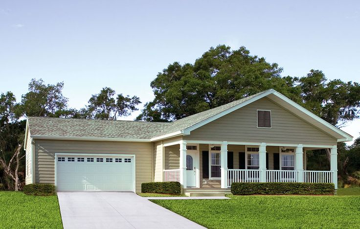 Pictures photos and videos of manufactured homes and for Modular 3 car garage