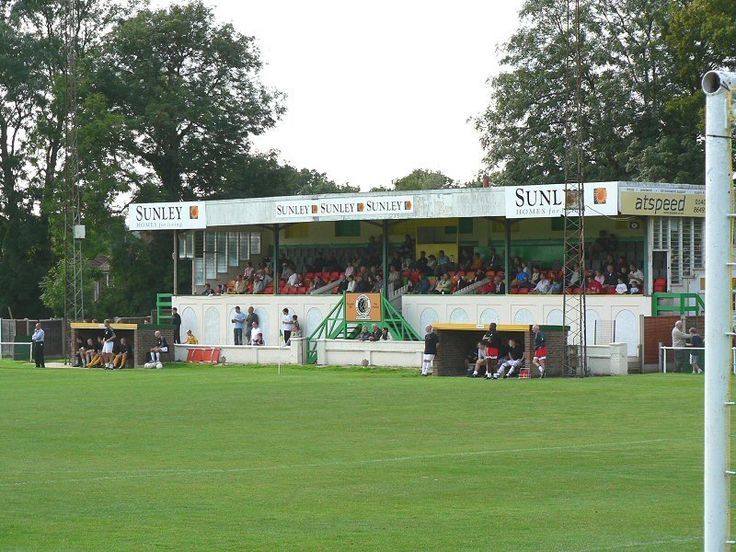 Queen Street - former, sadly missed, home of Horsham FC