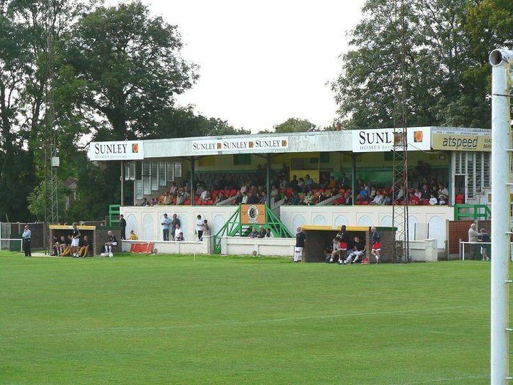 Queen Street - former, sadly missed, home of Horsham FC