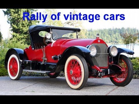 Rally of vintage cars   Автопробег ретро автомобилей