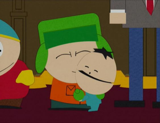 Kyle And Ike From South Park. :)