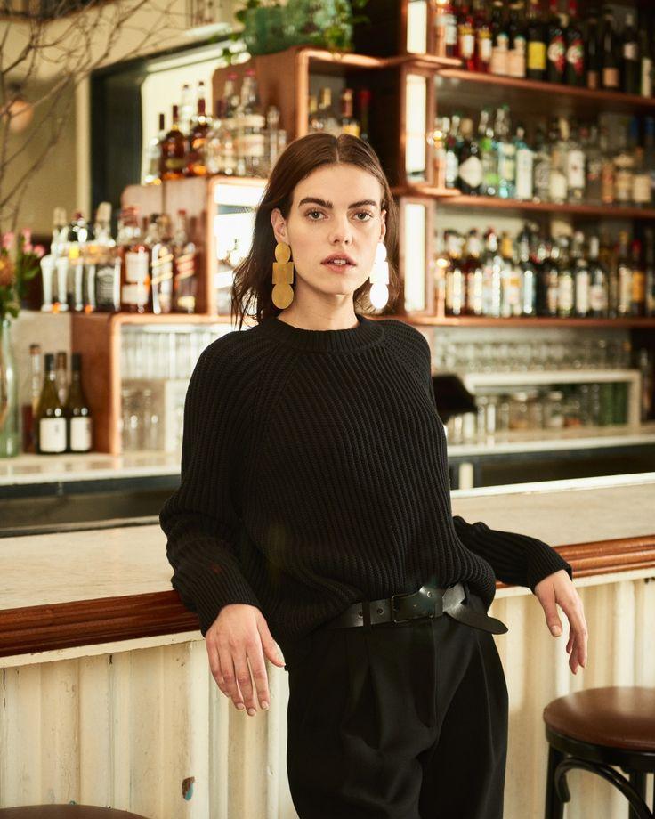 Kin Sweater   Uniform Belt | Steven Alan Clothing, Shoes & Jewelry : Women : Accessories : belts http://amzn.to/2m1lkpw