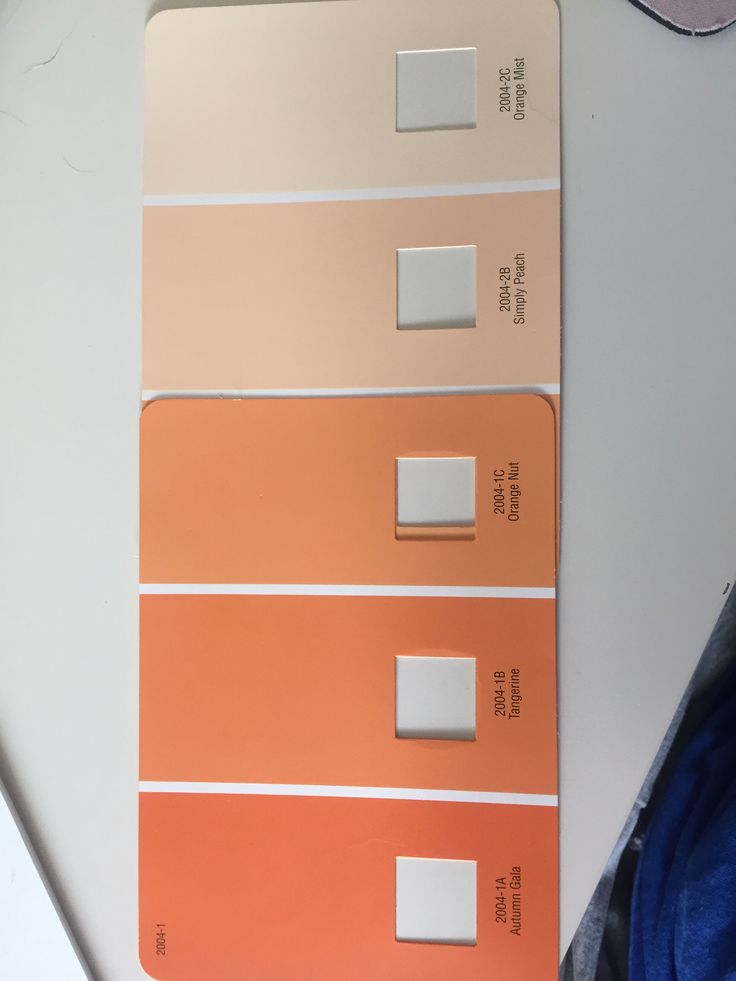 Ombr 233 Orange Wall Colors Valspar Paint Orange Mist