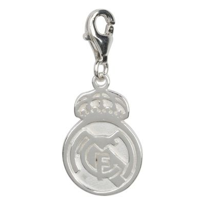 Real Madrid Crest Charm - Sterling Silver: Real Madrid Crest Charm - #RealMadridShop #RealMadridStore