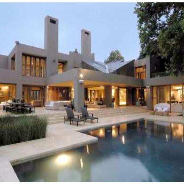 Desain Rumah Minimalis South Africa Luxury Home Designs Pictures