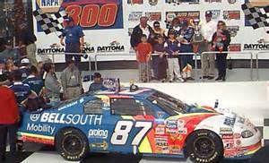 Joe Nemechek's 1st win Loudon, NH 1999