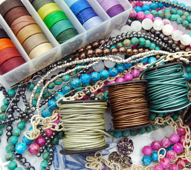 How to make bracelets Fiber, Leather, and Beads