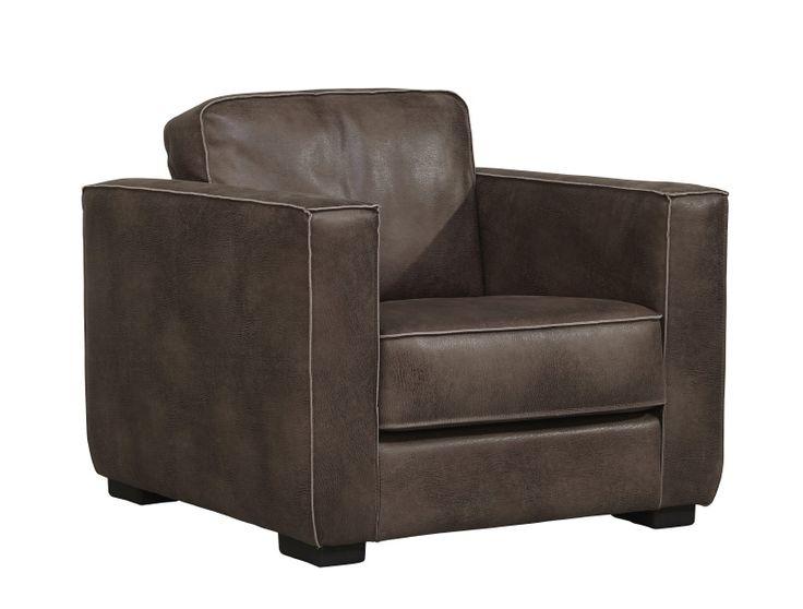 Prachtige fauteuil VICTOR. Ook verkrijgbaar als bank/hoekbank! Tijdloos zit comfort in leder. Ook verkrijgbaar in andere kleuren leer en stof!
