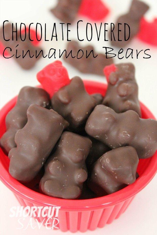 Chocolate Covered Cinnamon Bears