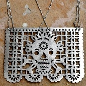 Papel Picado Necklace..this Web site has amazing jewelry but didn't see this necklace.help?
