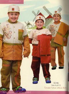 #baju #setelan #anak muslim dilengkapi surban
