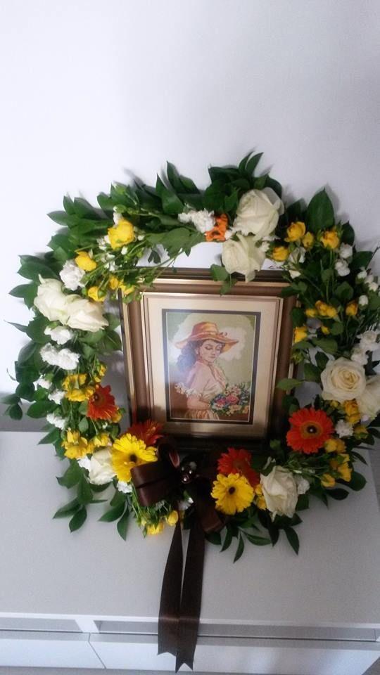 flowers wreath
