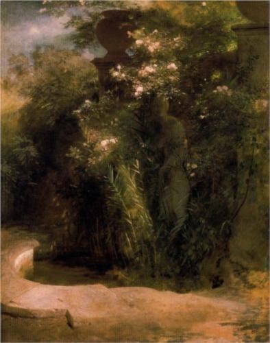 Abandoned Venus - Arnold Böcklin