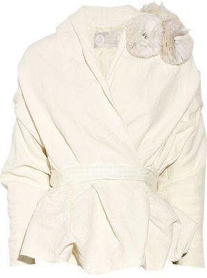 such a pretty coat for a winter bride