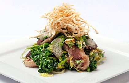 Duck with Noodles Recipe - Great British Chefs
