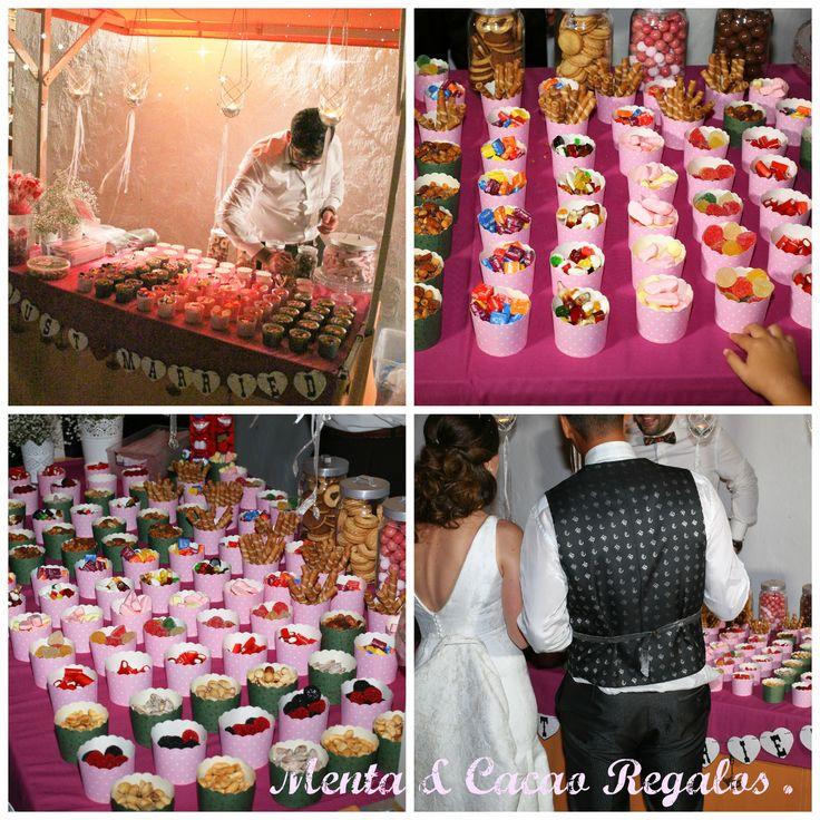 Puesto dulces y salados boda   P & JA .