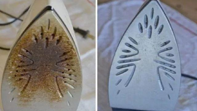 Cómo limpiar una plancha quemada y dejarla como nueva