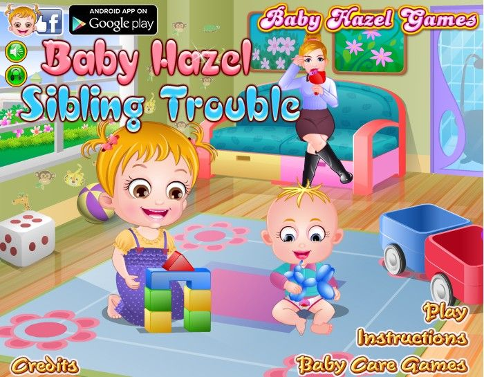 baby hazel sitting games