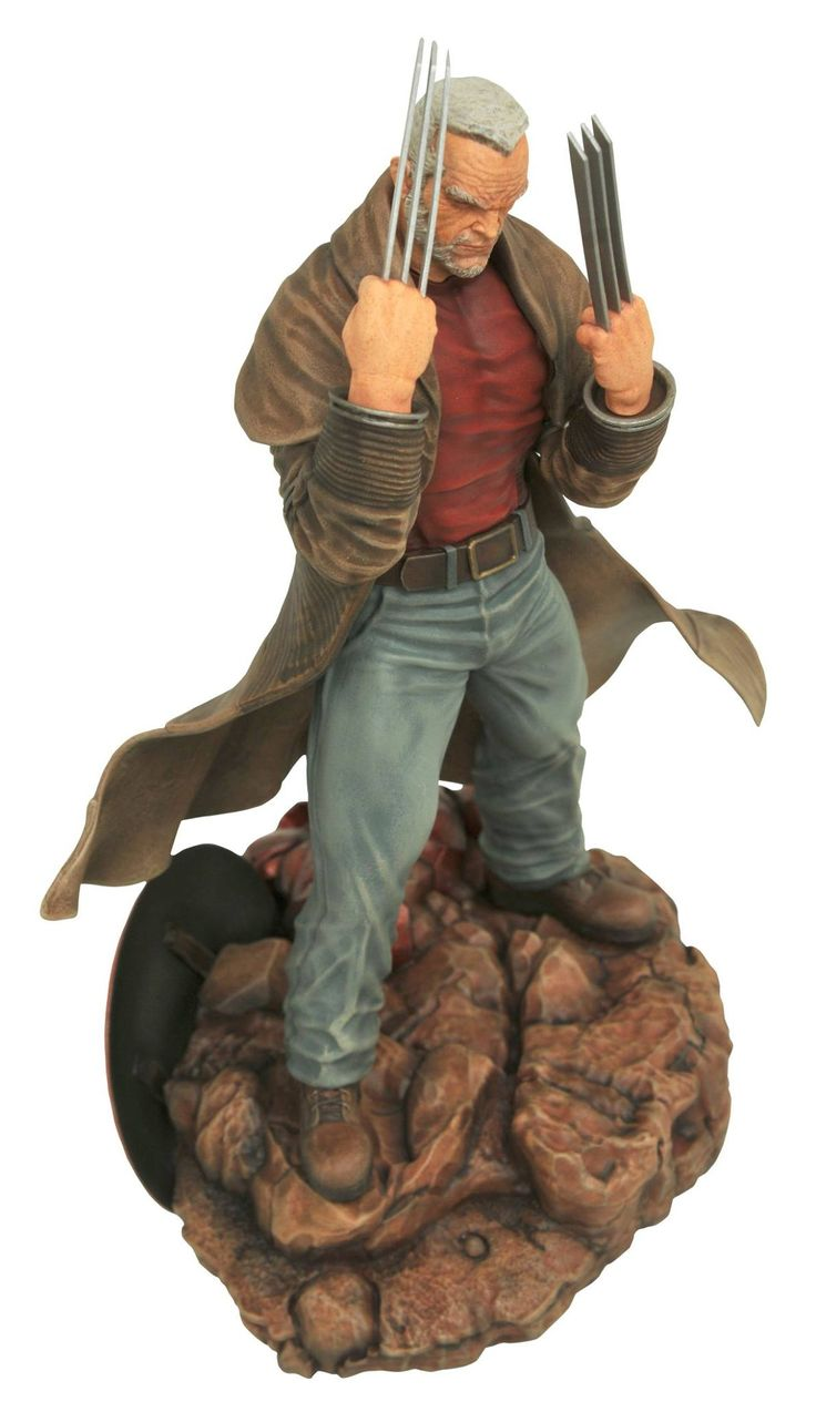 one of the best Wolverine stories  Old Man Logan statue coming from Diamond Select Toys