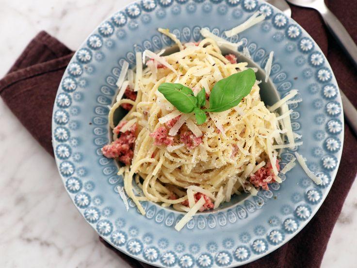 Spaghetti med salsicciasås   Recept från Köket.se