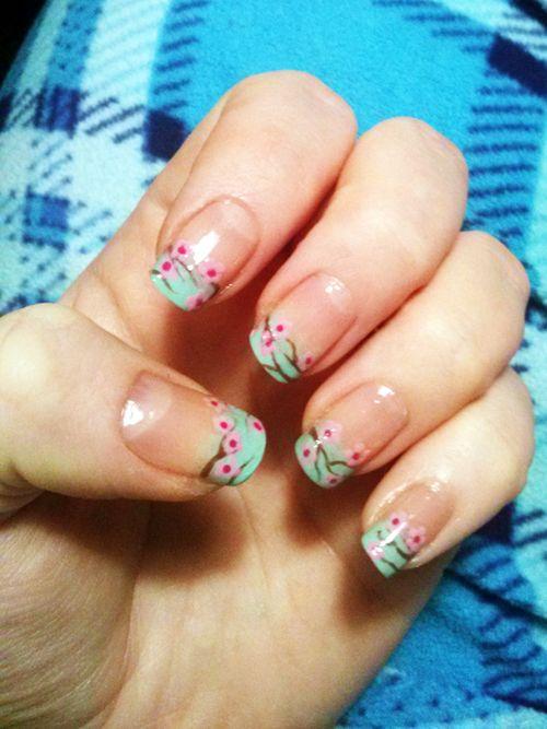 Best 20+ Cherry blossom nails ideas on Pinterest