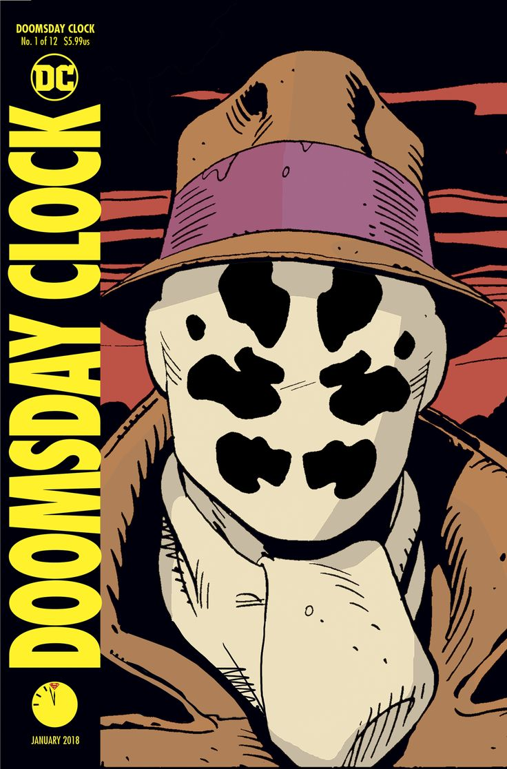 Rorschach Is Indeed In Doomsday Clock #1 – Watch The Lenticular Cover Design