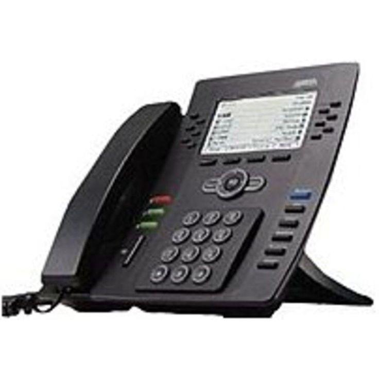 NOB Adtran 1200769E1B IP 706 6-Line VoIP Phone - Black