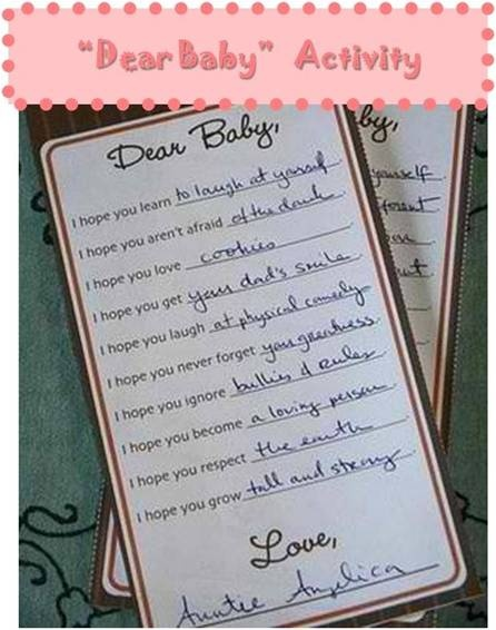 Wishes for the Baby | American Amma