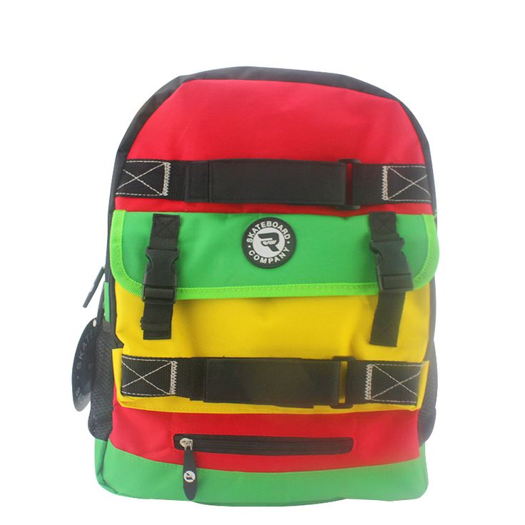 Skateboard Backpack Adult Student Shoulder Bags Sports Canvas Tide Board Street Travel Waterproof Bag Skateboard Parts