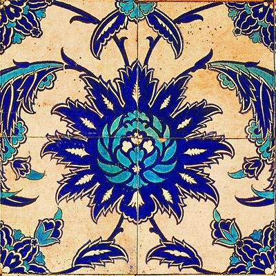 Gypsy Purple: Decorating and Design Find: Anna Chandler...Beautiful tile work.