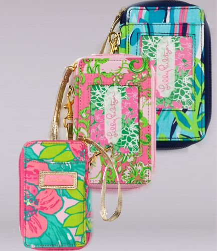 Lilly Pulitzer Wristlets need one for when I drive!