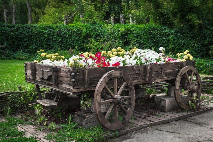 Best 25 Garden Wagon Ideas On Pinterest Amazing Gardens