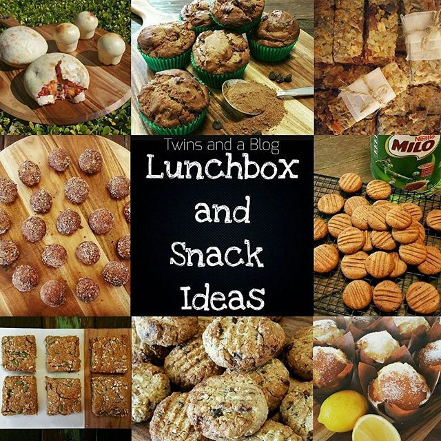 My HUGE and growing list of LUNCHBOX AND SNACK IDEAS for the whole family!!! I have labeled/colour coded each recipe to indicate if it is Nut Free, Egg Free, Gluten Free, Dairy Free, or Refined Sugar Free (note: my recipes are really easy to substitute according to your food allergies/tolerances/tastes) 🌞🌞 http://twinsandablog.com.au/lunchbox-and-snack-ideas/ #twinsandablog #thermomix #thermomixaus #thermomixau #thermomixaustralia #bestofthermomix #sydneyfoodblogger #sydneyfoodblog…