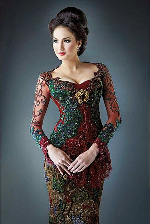 Model Kebaya Modern 2014 @CremeDeModa