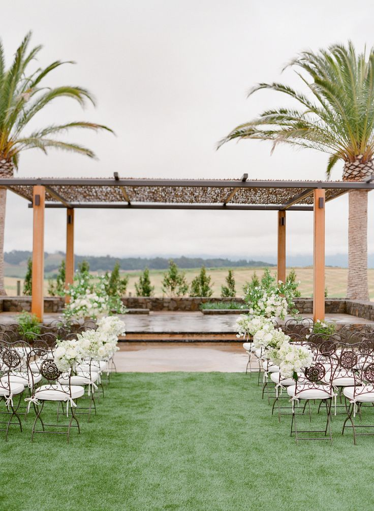 Photography : Jose Villa Photography | Event Planning : Cole Drake Events | Venue : Carneros Inn Read More on SMP: http://www.stylemepretty.com/2016/10/24/carneros-inn-spring-wedding/