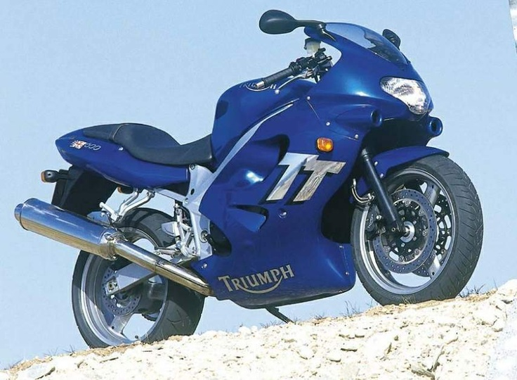 The original look of my '02 TT600