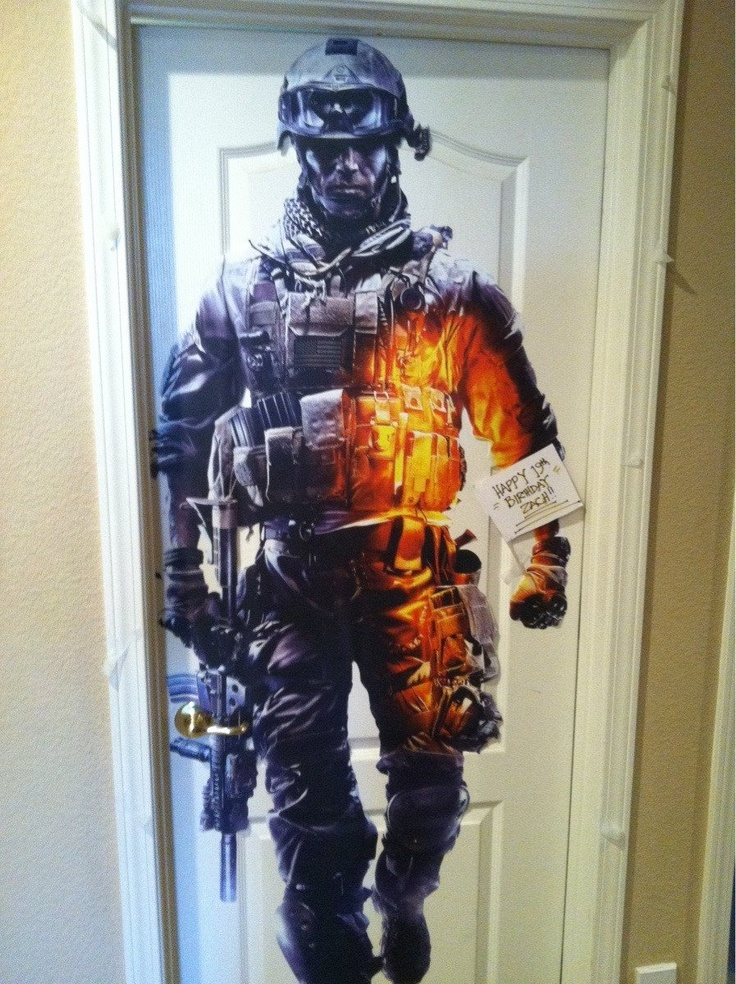 A belated Happy Battlefield Birthday to BF3 fan Zach who scored this killer deco…