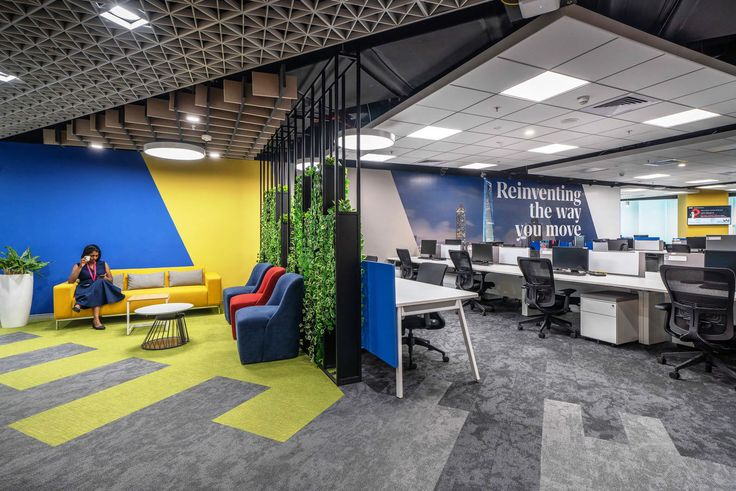 Inside the new offices of private elevator company in