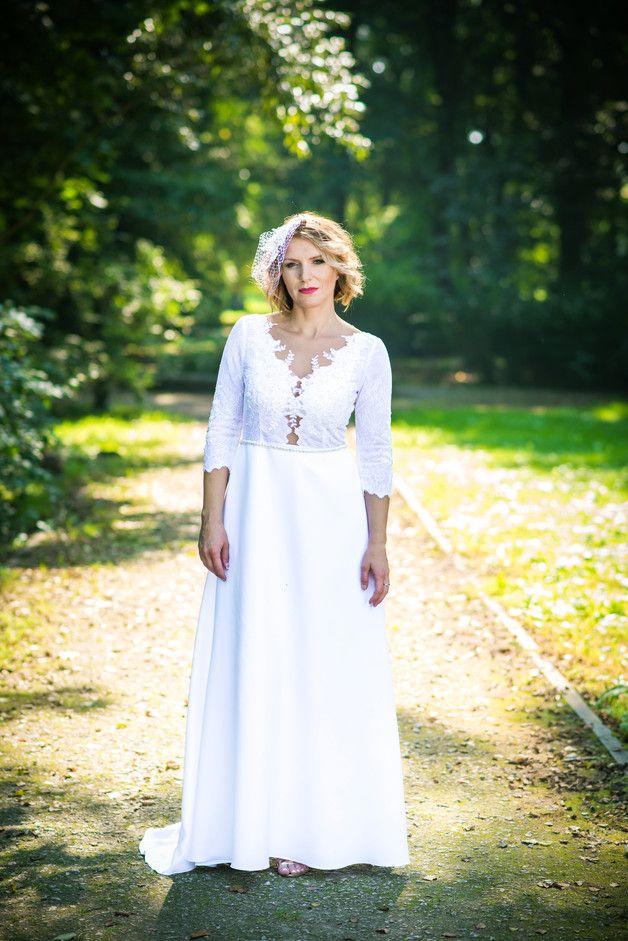 Sukienka ślubna biała Josephine JORDJA - jordja - Suknie ślubne